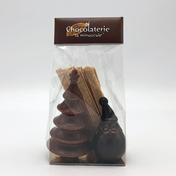 sapin chocolat 100g
